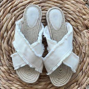 H&M platform espadrille sandals